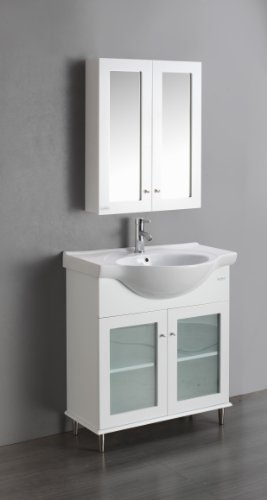 24' Bathroom Vanity Set - Eviva TUX 24