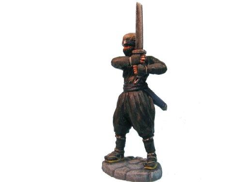 オーロラモデル メタルフィギュア「忍者」 ファンタジー ゲームミニチュア FE15