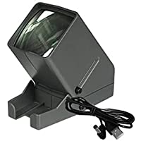 35mm Film and Slide Viewer, Desk Top Portable LED Negative and Slide Viewer, 3X Magnification, LED Lighted Viewing, for…