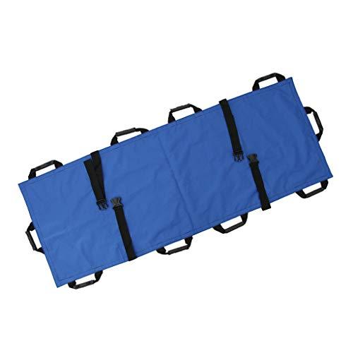 Prettyia Toalla Profesional Lona Camilla con Bolsa De Cubiertas Ligero Azul 178x 54cm