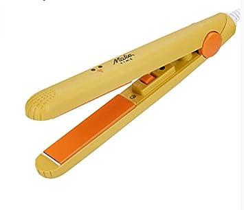 Mini plancha de pelo corrugado hierro plano rápido Wave rizador de pelo 2 en 1 pelo Pelo Straightener hierro herramientas 495: Amazon.es: Salud y cuidado ...
