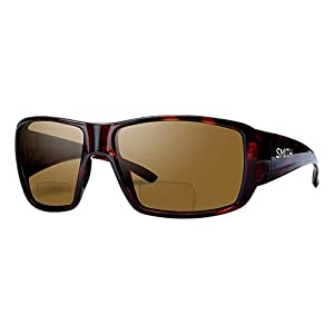Smith Guides Choice Bifocal Polarized Sunglasses - Men's Matte Havana/Brown 2.00, One Size