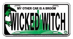 Wizard of Oz License Plate ()