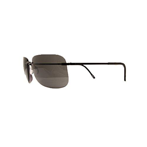 Silhouette - Gafas de sol - para hombre negro negro: Amazon ...