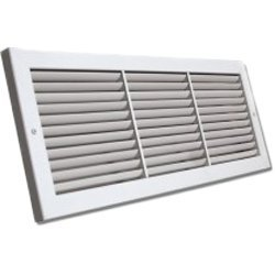 Shoemaker 1100-26X14 Fixed Blade Baseboard Return Air Grille 26