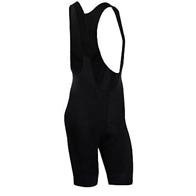 Men's Breathable 6D Padded Classic Bib Cycling Shorts Black