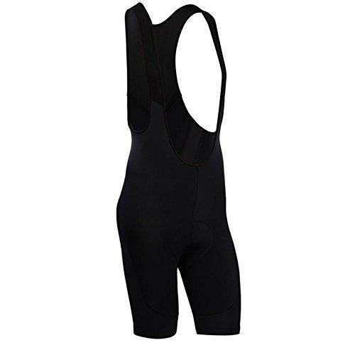 (Men's Breathable 6D Padded Classic Bib Cycling Shorts Black)