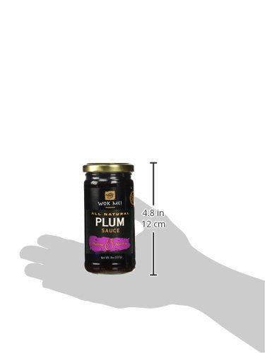 Wok Mei Gluten Free Plum Sauce, 8 Oz./2 Pack