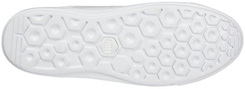 JACK & JONES Jfwmervin Textile Bright White, Zapatillas para Hombre Blanco (Bright White)
