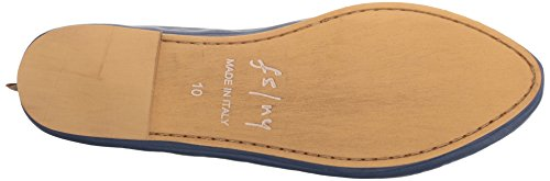 Womens Leather Ballet NY Sole Urge French Flat FS Navy q8tFZ