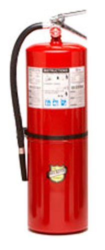 Fire Valve - Buckeye 12120 ABC Multipurpose Dry Chemical Hand Held Fire Extinguisher with Aluminum Valve and Wall Hook, 20 lbs Agent Capacity, 7-1/2