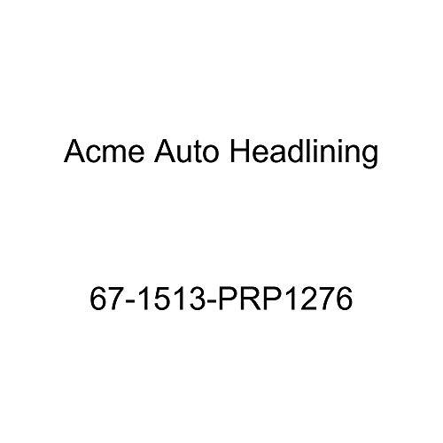Acme Auto Headlining 67-1513-PRP1276 Dark Green Replacement Headliner (Pontiac Firebird 2 Door Hardtop 5 Bow)