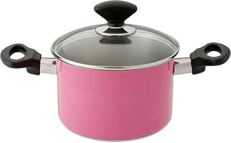鍋 ピンク