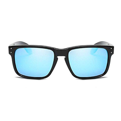 PC de Gafas 2 Gafas fish Sol Clásica Conducir de de Marco Sol Vidrios Vintage polarizados la Gentleman Coolsir Fresca Gafas ZZ0Rqwz