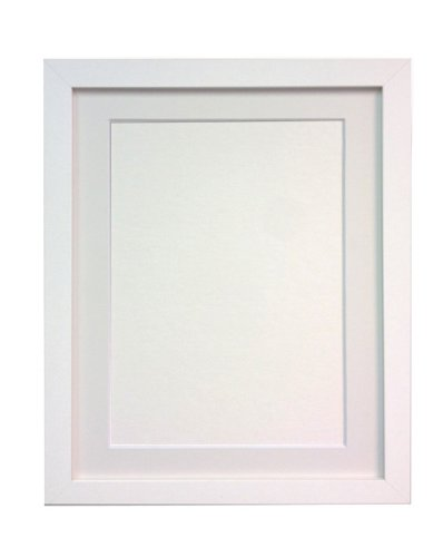 FRAMES BY POST H7 White Frame with White Mount A2 for Pic Size A3 ...