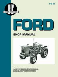 Ford 1910 Tractor Service Manual (IT Shop) by Jensales