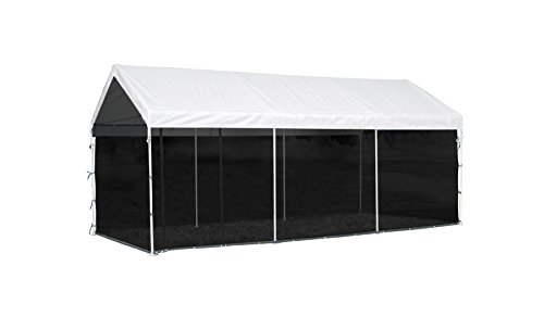 (ShelterLogic MaxAP Screen House Enclosure Kit, 10 ft. x 20 ft. (Frame and Canopy Sold Separately))