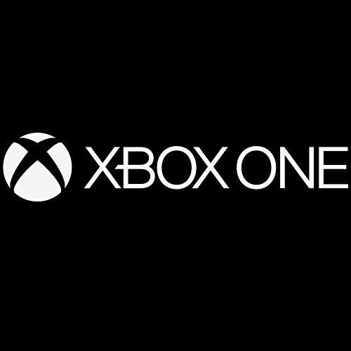 Xbox One Logo Vinyl Decal Sticker - For wall, vehicle, computer, home decor (110x22 inch, Gloss White) by Bad Fish Custom