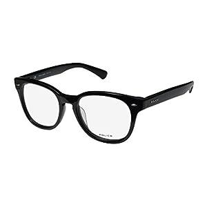 Police Eyeglasses V1739 V/1739 0700 Black Full Rim Optical Frame 49MM