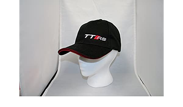 Amazon.com  Genuine Audi TT RS TTRS Baseball Cap Hat  Sports   Outdoors f7d7740c28c