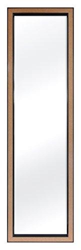 MCS 12x48 Inch Over the Door Mirror with Cork Edge