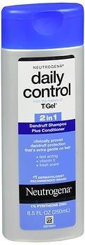 Control 2in 1 Dandruff Shampoo - Neutrogena Daily Control 2 In 1 Dandruff Shampoo Plus Conditioner 8.50 oz (Pack of 4)