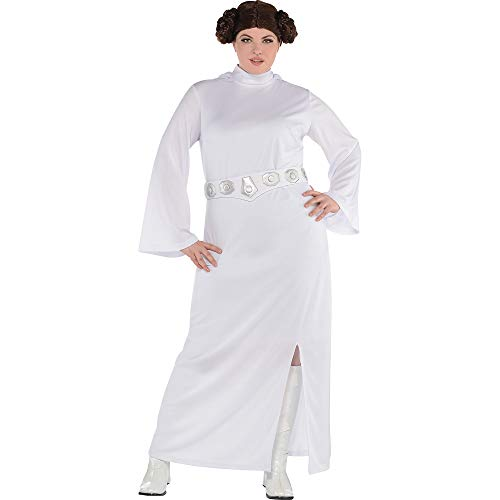 SUIT YOURSELF Princess Leia Halloween Costume for Women, Star Wars, Plus Size, Includes Accessories]()