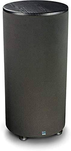 SVS PC-2000 Subwoofer Black Ash 12-inch Driver, 500-Watts RMS, Ported Cylinder Subwoofer
