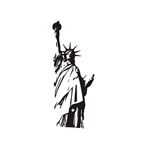 Zlolia Wall PVC Wall Sticker Decal Quote Art Vinyl Statue of Liberty -