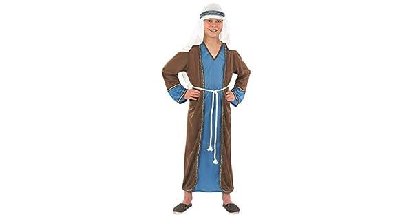 Amazon.com: Disfraz de Nativity Play para niño de Joseph, 6 ...