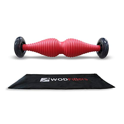 WODFitters T-Pin - Trigger Pin - Revolutionary Muscle Therapy Roller for Trigger Points, Mobility, Recovery Before and After WODs and Optimized Performance