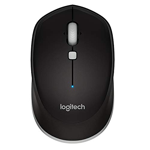Logitech M337 Wireless Mouse, Bluetooth, 1000 DPI Laser Grade Optical Sensor, 10-Month Battery Life, PC/Mac/Laptop – Black