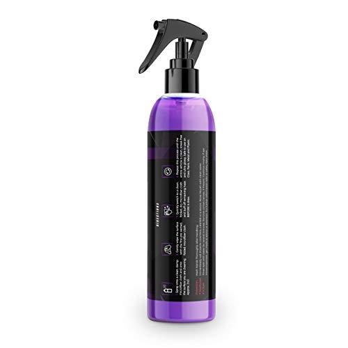 Shine Armor Fortify Quick Coat - Ceramic Coating - Car Wax Spray - Waterless Car Wash & Wax - Hydrophobic Top Coat Polish & Polymer Paint Sealant Protection