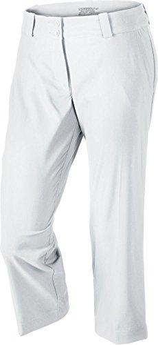 Nike Women's Modern Rise Tech Crop Pant White / White 8
