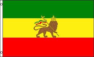 Etiopía oficial Bandera ETIOPÍA (León): Amazon.es: Jardín