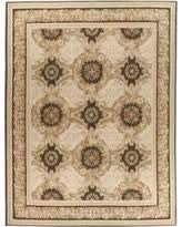 Due Process Stable Trading AU1GUERPIOBR01014 10 x 14 ft. Aubusson Gueret Area Rug44; Pink & Brown from Due Process Stable Trading