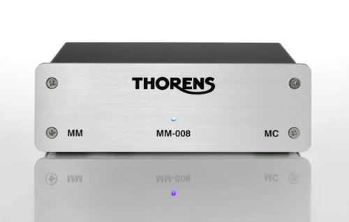 Thorens MM-008 Phono Preamplifier in Silver by Thorens