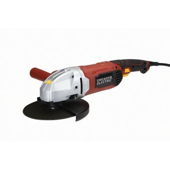 Chicago Electric Power Tools 7'' Heavy Duty Angle Grinder