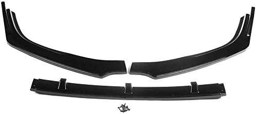 BGQ L/èvre de s/éparateur de Pare-Chocs Avant de Voiture pour Mazda 3 Axela 2019-2020 Protecteur de Kit de Corps de d/éflecteur de diffuseur de becquet ABS