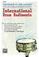 International Drum Rudiments DVD