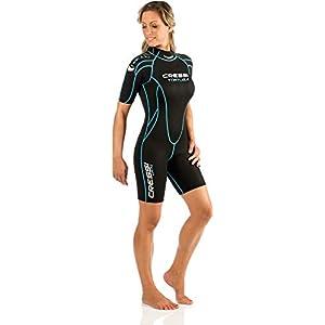 Cressi Shorty Ladies' Wetsuit for Water Activities | Tortuga 2.5mm Premium Neoprene