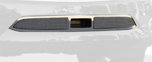 Upper Class Small Formed Mesh Stainless Chrome Finish Bumper Grille Overlay for Infiniti QX56 ()