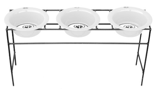 Platinum Pets Triple Feeder Stainless product image