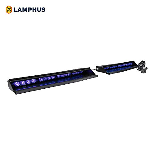 "LAMPHUS SolarBlast 18"" 16-Watt LED Emergency Visor Light Kit"
