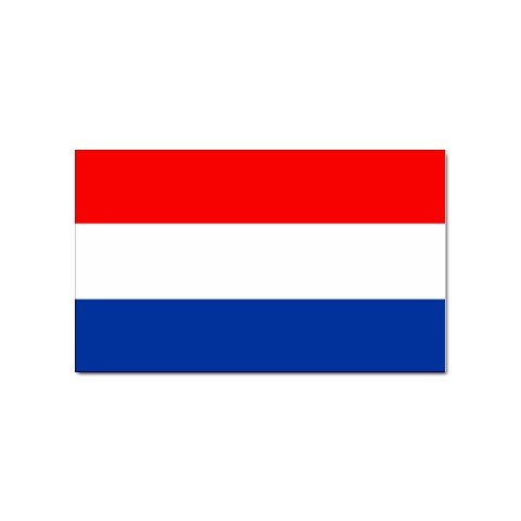 Amazon com netherlands flag sticker automotive