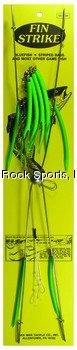 Fin Strike SS20RFG 20-Inch Umbrella Rig, 4-Arm, Flo Green Finish
