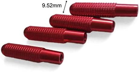 Maliyaw 4 UNIDS Aleaci/ón de Aluminio Cerradura de Coche Modificada Puerta Pin Lift para Mercedes-Benz Modificado GLC Nuevo C//GLA//A Grado E Clase CLA//GLE//GLK
