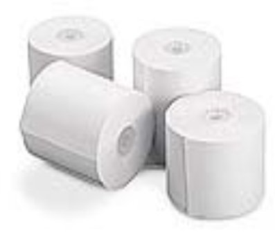 OfficeMax Add Machine/Register Paper Rolls, White, 3