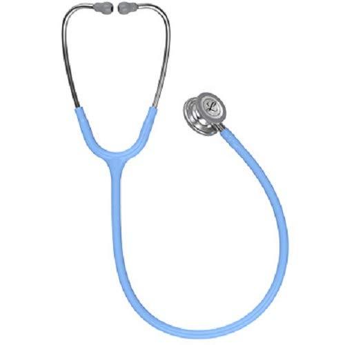 3M Littmann Classic III Monitoring Stethoscope, Ceil Blue Tube, 27 inch, 5630