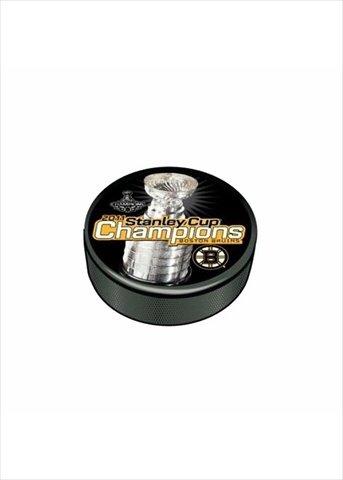 Sher-Wood Hockey 510AN001394 2011 Stanley Cup Champion Souvenir Puck Boston Bruins
